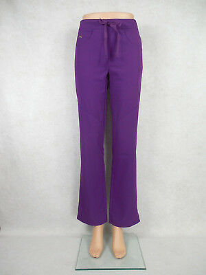 Grey's Anatomy 5-pocket Nurses Scrub Pants Style 2210. Dewberry NEW *Free Ship*