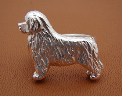 Sterling Silver Newfoundland Standing Study Ring