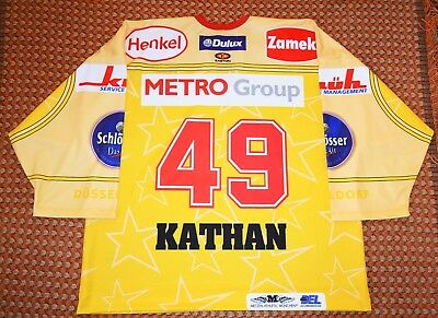 DEG Metro Stars, Bundesliga Hockey Jersey, Size 54 #49 Klaus Kathan Player Issue