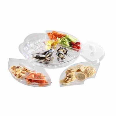 New Prodyne Appetisers on Ice with Lid Serving Platter