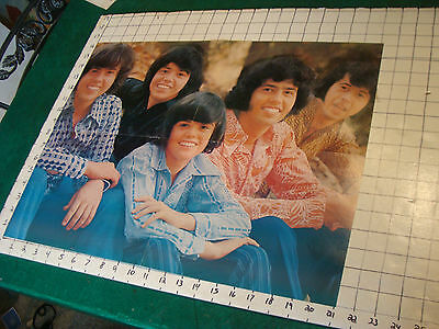 DONNY OSMOND Poster: folded 4 sheet THE OSMONDS, back w 1/4 of Giant Donny
