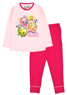 New Girls Official Shopkins 'Sweet Dreams' Lilac Pyjamas Ages 4-5, 5-6, 7-8,9-10