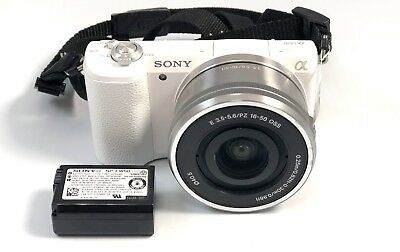 Sony Alpha a5100 mirrorless camera with 16-50mm kit lens
