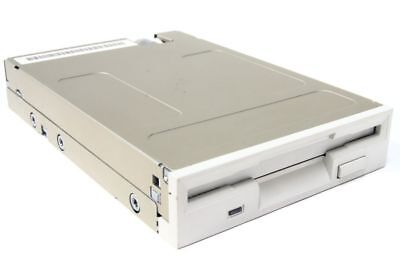 "3.5 "" Inch Computer Floppy Disk Drive Internal Desktop Pc 1.44mb Fdd White/Beige"