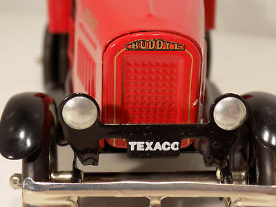 Texaco Tow Truck  Buddy L Stamped Steel MIB FIRST IN A SERIES  SOLD OUT