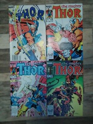 Thor #337-340 (1983) Bronze Age Marvel Comic 1st Beta Ray Bill