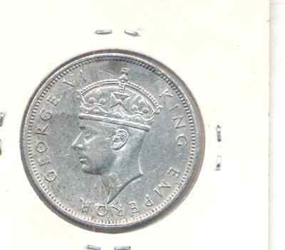 Southern Rhodesia 1941 Two Shilling (Florin) Silver Coin