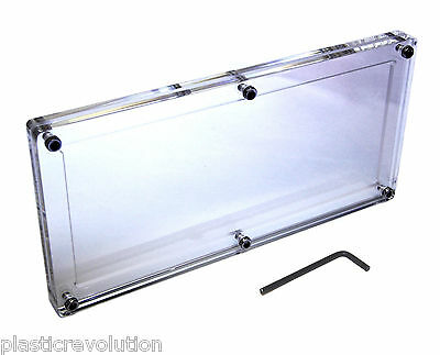 Acrylic Silver Certificate Note Large Frame Money Holder Currency Display Case