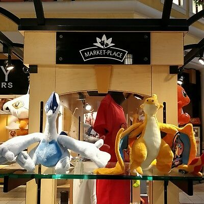 Mega Pokémon Plush Toys, Charizard and Lugia (choose one)