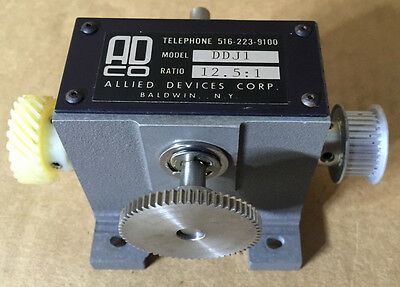 Allied Devices AD CO Reduction Gearbox DDJ1 Ratio: 12.5:1