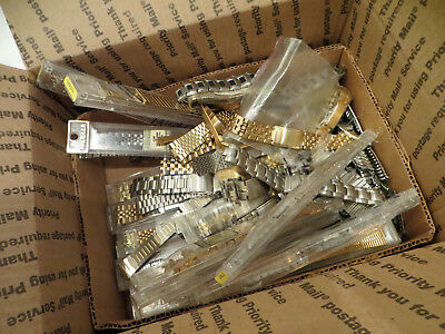 Huge NOS Lot Of Vintage Seiko and Speidel Bands BraceletsFrom Watchmaker Estate