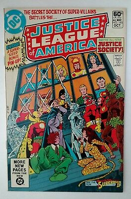 Justice League of America #195 (F/VF), DC 1981