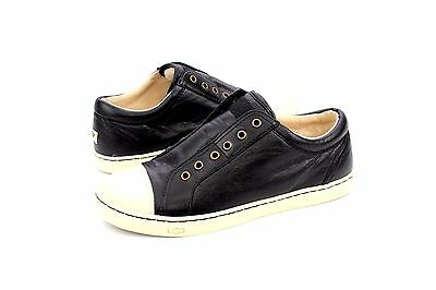 c6f64d789aa UGG JEMMA LEATHER Black Fashion Sneaker Shoe Size 5 Us Nib - $80.95 ...