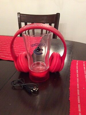 how to connect budweiser bluetooth headphones