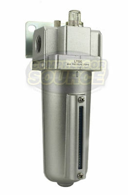 "1/2"" Compressed Air Tool In-Line Oiler / Lubricator Inline Oil Lubrication New"