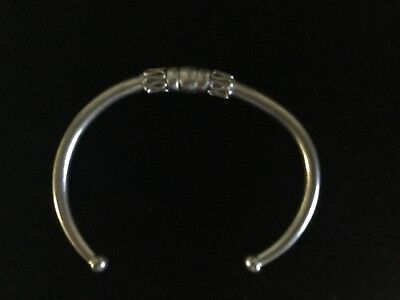 Rare Ancient Egyptian Stamped 100% Sterling Silver Pharaonic Deco.Bracelet!!!WOW