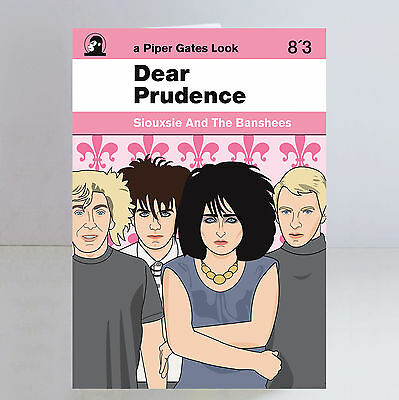 Siouxsie & The Banshees Ltd Edition Dear Prudence A5 Greeting/ Birthday Card