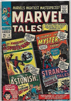 Marvel Tales #5 Marvel Silver Age Comic FN+/VF- (Spider-Man/Thor/Ant-Man/Torch)