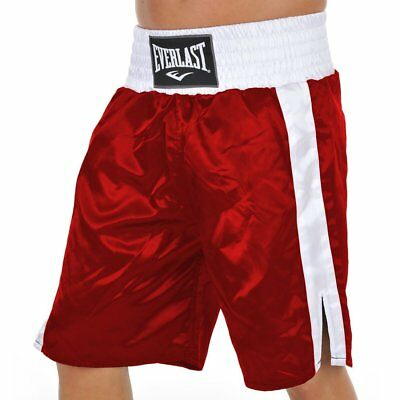 Bnwt Everlast Red Boxing Shorts Small