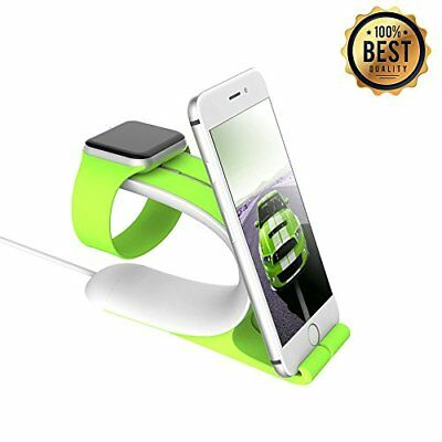 Apple Watch Stand LOCA Mobius 2-in-1 Smart Watch Charging Holder for Apple Wa...
