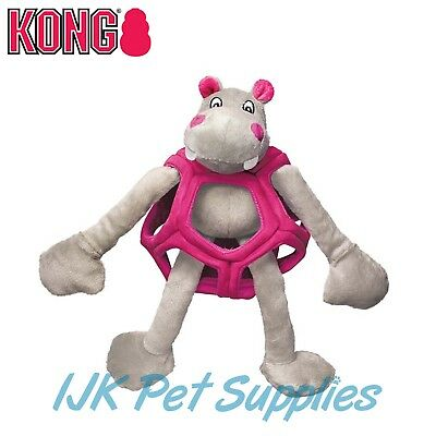 Kong puzzlements interactive dog puppy plush toy