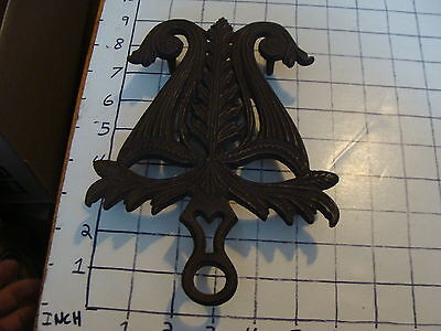 Original Vintage CAST IRON TRIVET 1800'S or early 1900's #32