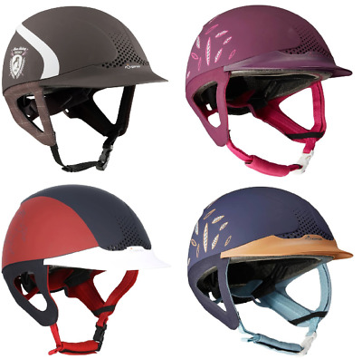 Fouganza Safety Horse Riding Helmet Hat Ventilated Adjustable for All 4 Colour