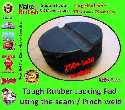 Can be used with Sealey 3290CX Trolley Jack - Jack Pad Jacking Pad classic car