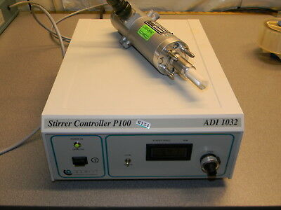 Applikon ADI 1032 Stirrer Controller P1000, P140 Motor,  Motor Cable, Manual