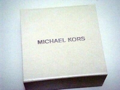 Michael Kors White Jewellery Box with Pouch and Booklet ~ NEW