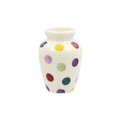 Emma Bridgewater Wallflower Polka  Small Mustard Vase SALE