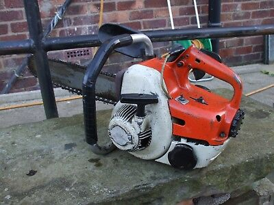 "Stihl  Two Stroke Petrol Chainsaw With 24"" Bar And Chain"