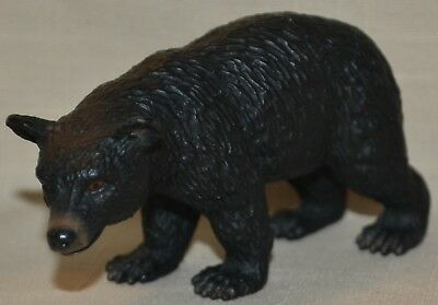 2002 Schleich Germany Black Bear Toy Collectible Figure