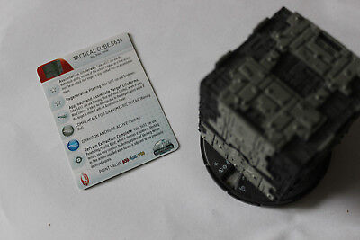 Star Trek Tactics III Heroclix Tactical Cube 5651 #100 Limited Edition