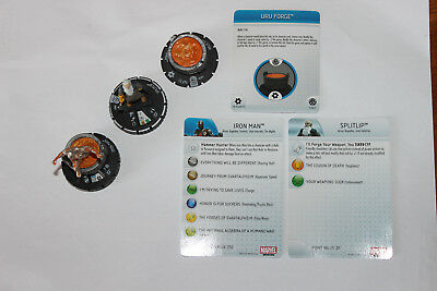 HeroClix Marvel Fear Itself The Mighty Scenario Pack Figuren + Object + Map