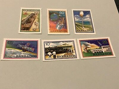 Barbados #512-517  MNH   Lot 3480
