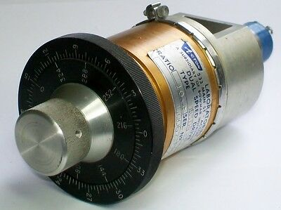 ACTON Heading Selector Synchro, Dual Speed drive, AVIONIC CALIBRATION not BOWMAR