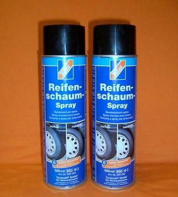 Technolit Reifen-Schaum-Spray 2x 500ml