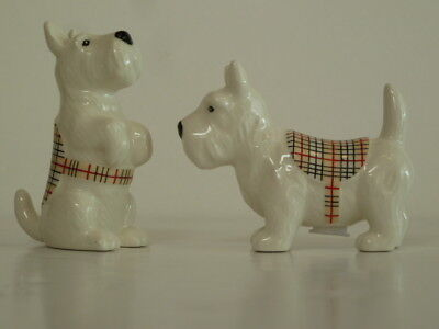 Salt Pepper Shakers Westie, Scottish Terrier, Scottie Dog