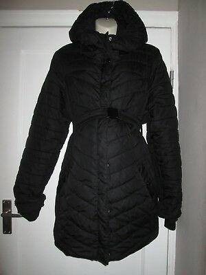 Lovely Size 12-14 Waterproof H&m Maternity Coat See Pics!!