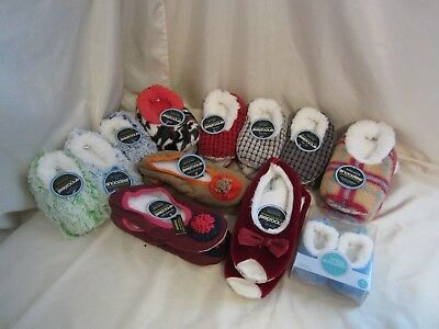 Snoozies Non Skid Slippers Toddlers, Kids, Womens - Your Choice