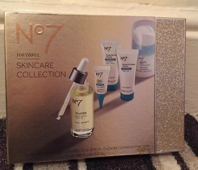 Boots No7 Youthful Skincare Collection Gift Set Protect & Perfect Brand New