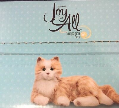 Hasbro Joy For All Cat - Orange Tabby Realistic Purrs Companion Pet