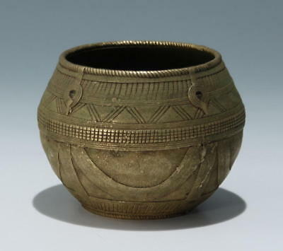 Indian Dokra Brass Bowl from Orissa - 19th C.         #as125