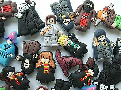 SHOE CHARMS (P3) - inspired by HARRY POTTER - ***PACK OF 12 Different***