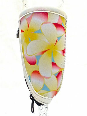 Champagne/Small Wine Glass Cooler - Frangipani