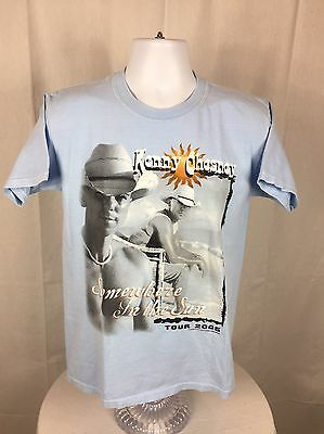 2005 Kenny Chesney Somewhere In The Sun Tour Short Sleeve T-Shirt Size Medium