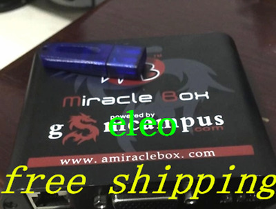 QUALITY Miracle Box+Miracle key dongle+ Set of JIGs unlock repair Chinese mobile