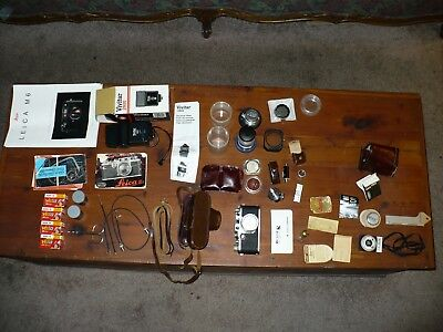Leica Camera and accessories
