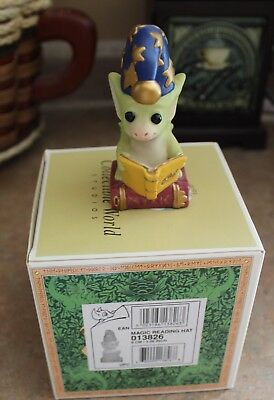Pocket Dragons Magic Reading Hat By Real Musgrave Excellent Condition Og Box And